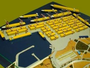 Asyaport inşaatı tüm hızıyla devam ediyor