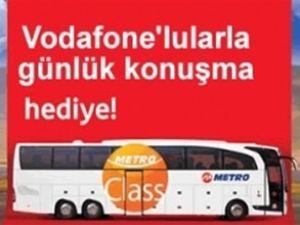 Metro, Vodafone'le bedava konuşturacak