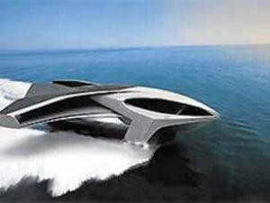 Ekranoyacht isimli süper yat uçabiliyor