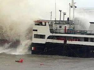 """Türk kargo gemisi """"Besiktash"""" battı"""