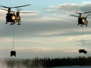 F-16 taşıyabilen helikopterde son aşama