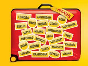 """Pegasus'tan """"kırmızı bavul"""" kampanyası"""