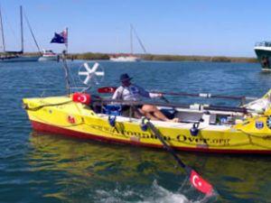 Erdun Eruç, kürekle üç okyanus geçti