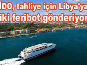 İDO, Libya'ya iki feribot gönderecek
