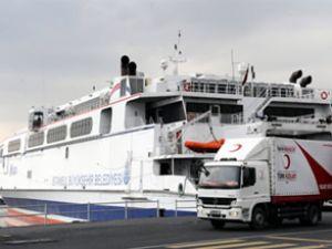 İDO'ya ait ilk feribot Libya'ya hereket etti