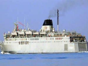 Mersin'den Libya'ya feribot gönderildi
