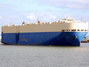 Japonya'nın ilk Ro-Ro gemisi faaliyete başladı