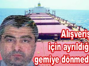 Türk denizci İngiltere'de kayboldu
