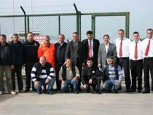 Ayvalık Limanı'nda ISPS Kod tatbikatı yapıldı