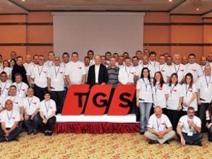 TGS'nin yöneticileri Antalya'da buluştu