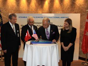 Malezya Başbakanı İSG'yi ziyaret etti