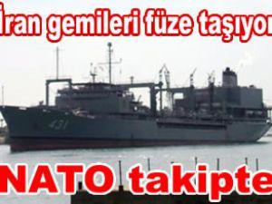 İran savaş gemileri Lazkiye Limanı'na ulaştı