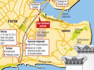 Taksim-Yenikapı metrosu tarihe takıldı