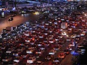 Trafikteki araç sayısı yüzde 30 arttı