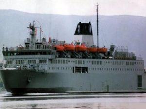"""""""TCG İskenderun"""", Bingazi Limanı'nda"""