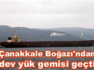 """""""V Kerkis"""", Çanakkale Boğazı'ndan geçti"""