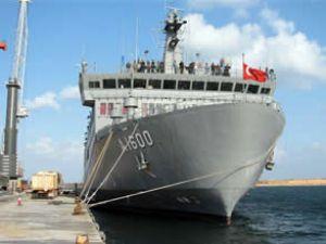 TCG İskenderun gemisi Marmaris'e geldi