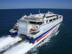 Osmangazi 1 feribotu Marmaris'te