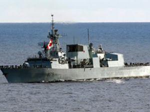 Kanada da Libya'ya savaş gemisi yolluyor