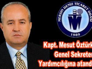 Kapt. Mesut Öztürk, MDTO'ya atandı
