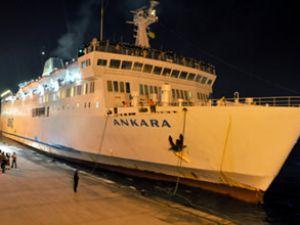 """Ankara"" feribotu İstanbul'a geldi"