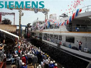 Vapur keyfi Siemens teknolojisiyle artıyor