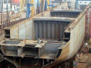 Gisan'da 15 milyon $'lık gemi inşa ediliyor