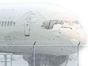 Çorlu Havaalanı yoğun kardan kapandı