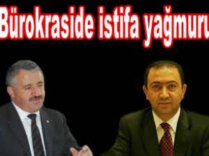 Suat Hayri Aka ve Ahmet Arslan istifa etti