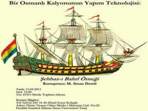Osmanlı gemileriyle ilgili seminer verilecek