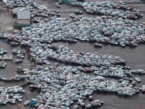 Japonya'da otomobil üretimi durduruldu