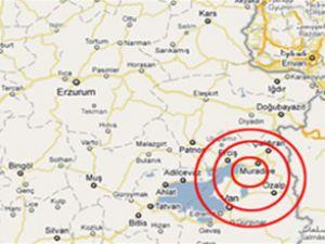 Van'ın 2 ilçesinde 2 ayrı deprem oldu