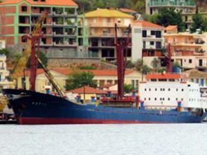 Ergene ile Kotil gemisi Ahırkapı'da çatıştı