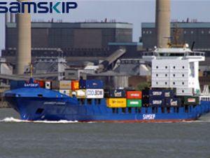 Samskip'in iki gemisinin inşası tamamlandı