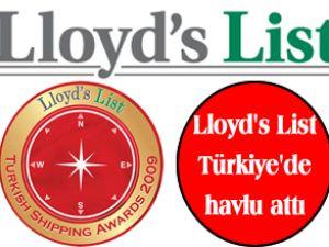 Lloyd's List 2011 Ödülleri iptal edildi