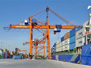 Mersin Limanı'ndaki yük hareketi arttı