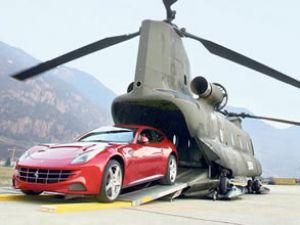 Ferrari FF, 2 bin 350 m yükseklikte tanıtıldı