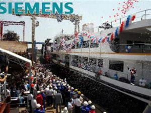 Siemens sistemleri gemilerde kullanılıyor