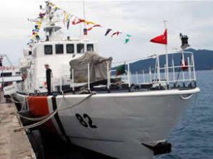 TCSG-82 botu Marmaris'te ziyarete açıldı