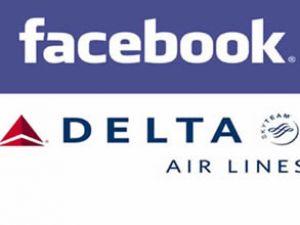 Delta Havayolları ve Facebook işbirliği