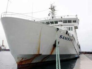 Samsun gemisi Libya'dan 1150 kişi getirdi