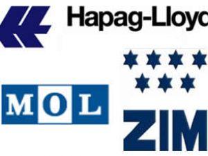 Zim, Hapag-Lloyd ve MOL'den yeni rota