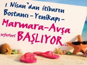 İDO'dan Marmara Adası ve Avşa'ya sefer