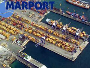 Marport'ta 10 milyonuncu TEU elleçleniyor