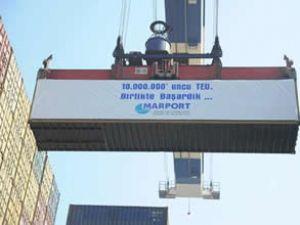 Marport'ta, 10 milyonuncu TEU elleçlendi