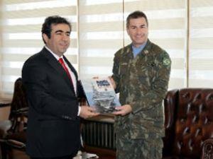 UNIFIL heyeti, Mersin Limanı'nı inceledi