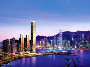Dünyanın en yüksek oteli Hong Kong'da açıldı