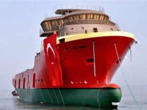 NB102 Seaborg gemisi denize indirildi