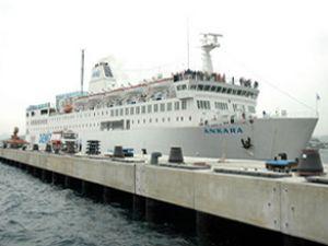Ankara feribotu Libya açıklarında bekliyor