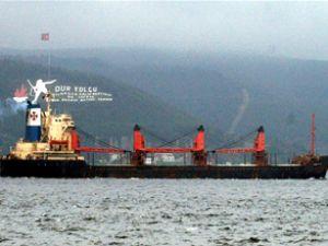 """""""Ioanna-G"""" gemisi Boğaz'da arızalandı"""